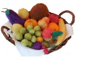 gefilzte Früchte